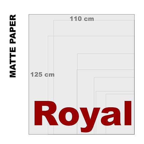 Enhanced Matte Royal Paper Print (189 g/m²)