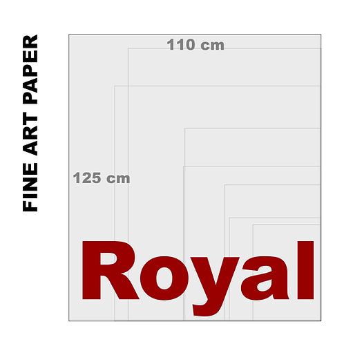 Velvet Fine Art Royal Paper Print (255 g/m²)