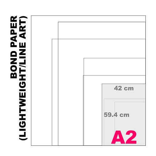 A2 Bond Paper [Lightweight/Line Art] (80 g/m²)