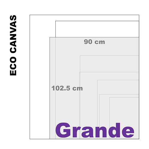 Top Grade Eco Grande Canvas Print (Matte) 370+ g/m²)