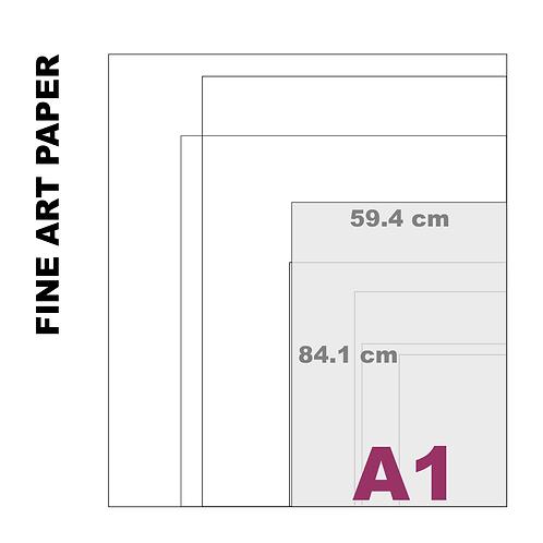 Velvet Fine Art A1 Paper Print (255 g/m²)