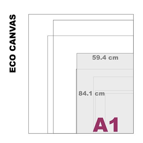 Top Grade Eco A1 Canvas Print (Matte) 370+ g/m²)