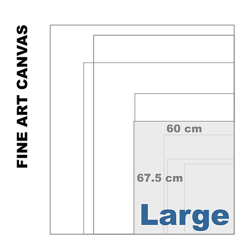 Gallery Fine Art Large Canvas (Extra White Luster) 395 g/m²