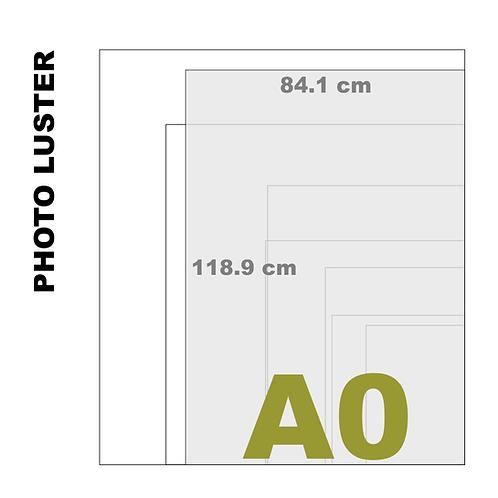 Premium Luster A0 Photo Print (260 g/m²)