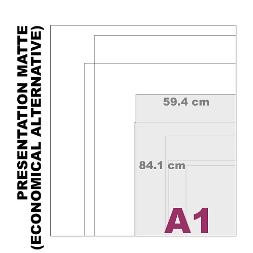 A1 Presentation Matte Paper (180 g/m²)