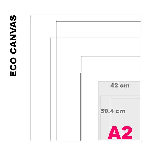 Top Grade Eco A2 Canvas Print (Matte) 370+ g/m²)