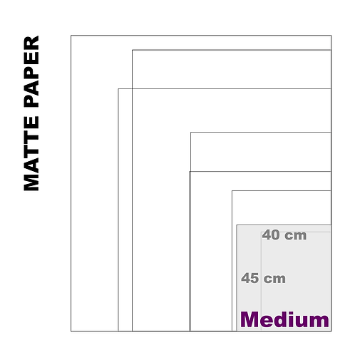 Enhanced Matte Medium Paper Print (189 g/m²)