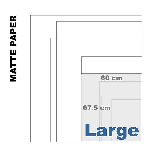 Enhanced Matte Large Paper Print (189 g/m²)