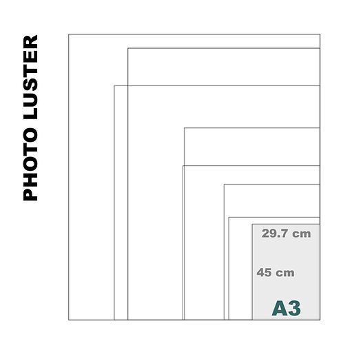 Premium Luster A3 Photo Print (260 g/m²)