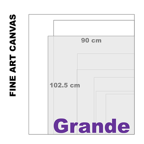 Gallery Fine Art Grande Canvas (Extra White Luster) 395 g/m²