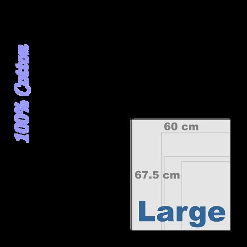 100% Cotton Fine Art Large Canvas (Matte) 340 g/m²