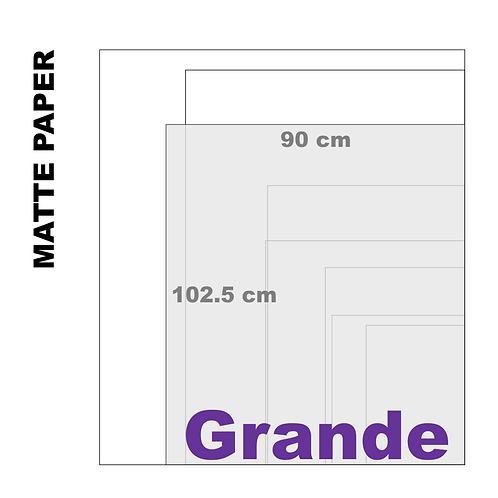 Enhanced Matte Grande Paper Print (189 g/m²)