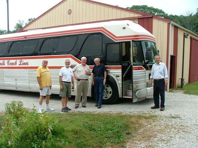 Kenny, Dennis, Bev, Ed, and Mike