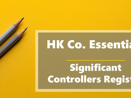 HK Co. Essentials - Significant Controllers Register