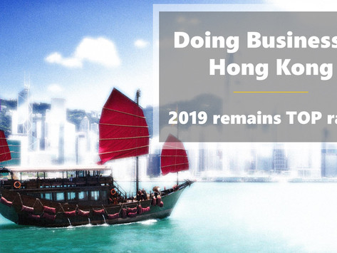 2019 Remains in Top Ranks - Doing Business in Hong Kong