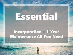 Essential - Incorporation and Maintenanc