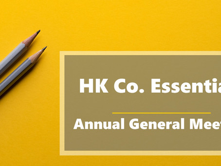 HK Co. Essentials - Annual General Meeting