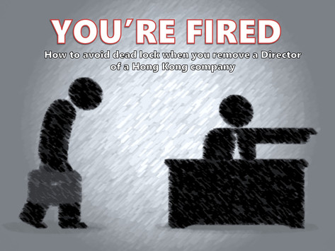 YOU'RE FIRED!  How to avoid dead lock when you remove a director?