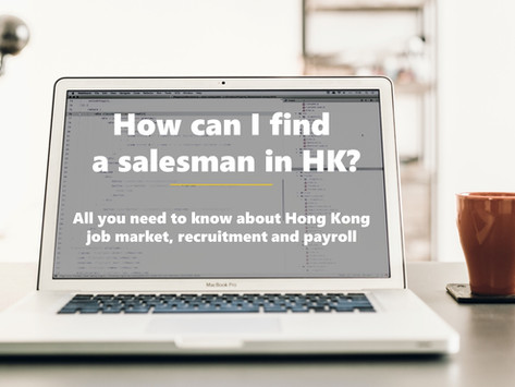 How can I find a salesman in Hong Kong?