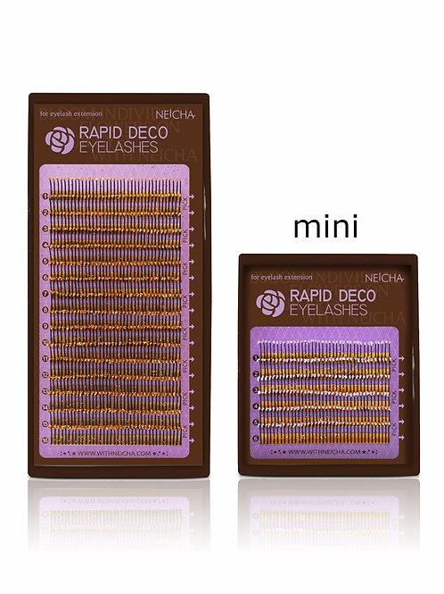 NEICHA Rapid Gold Deco Lashes mini mix