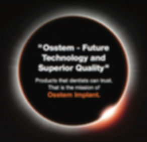 OSSTEM Mission, OSSTEM Qualitätsimplantat, OSSTEM Implant