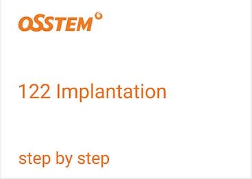 OSSTEM Implantation Bohrprotokoll step by step