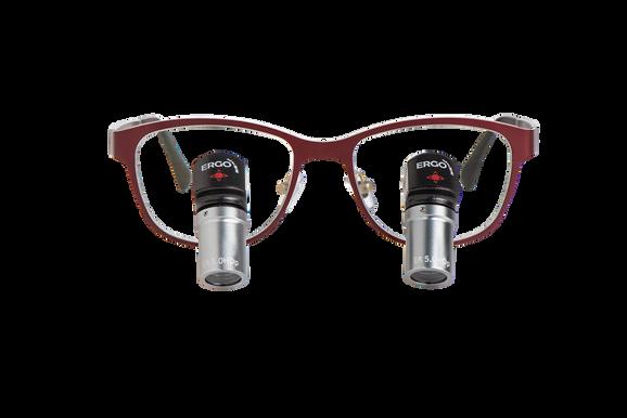 ErgoLine TTL Lupenbrille DesignerRahmen Morriz of Sweden