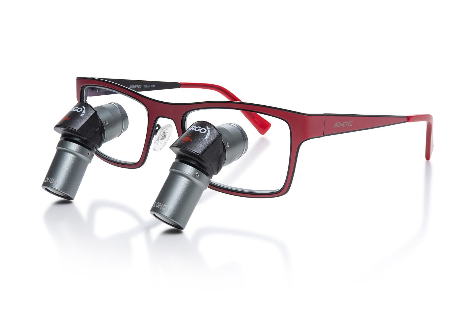 ErgoLine Designer Lupenbrille JAZZ Farbe Rot