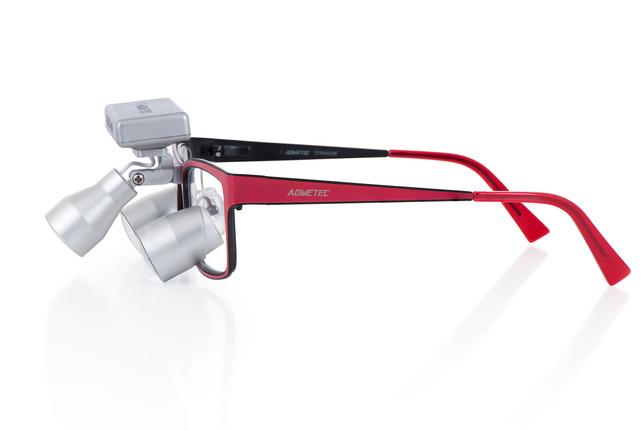 Galilean TTL Lupenbrille mit LED kabelloser Stirnlampe
