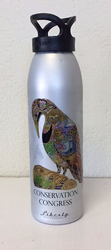 Conservation Congress water bottle
