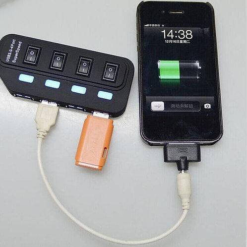 Hub USB 3.0 Super SPeed 4 Portas - AC264