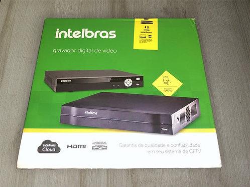 DVR GRAVADOR 4 CANAIS INTELBRAS 1004 Mhdx Hdcvi Multi HD Nvr