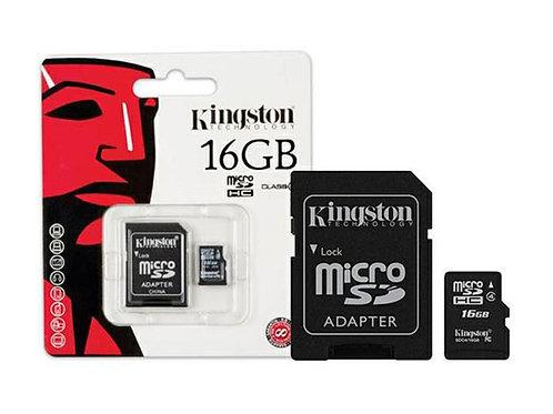 Cartão MicroSD 16Gb KINGSTON