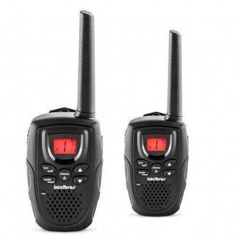 Radio Comunicador Intelbras Icon 4528002 Rc5002 Kit Com 02 Rádios 26 Canais