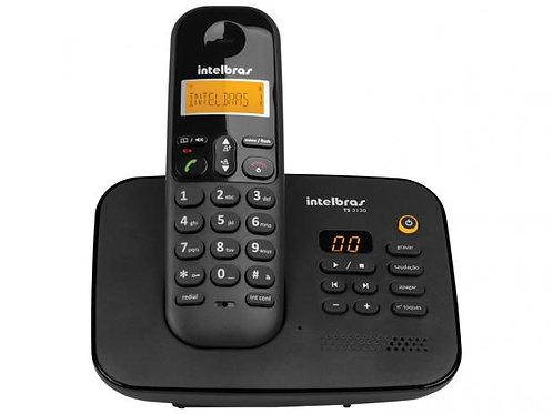 Telefone Sem Fio Intelbras TS 3130 - Id. de Chamada Sec. Eletrônica Preto