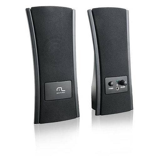 Cx Som USB Slim Preto Sp053 PRETO