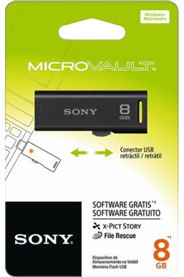 Pen Drive 8GB USM8GR B Preto Sony
