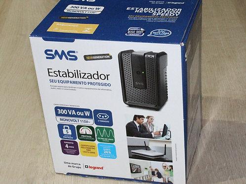 Estabilizador SMS Revolution Speedy 115V 300VA USP300S 115 16520