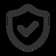 Icon-Siegel mit Haken