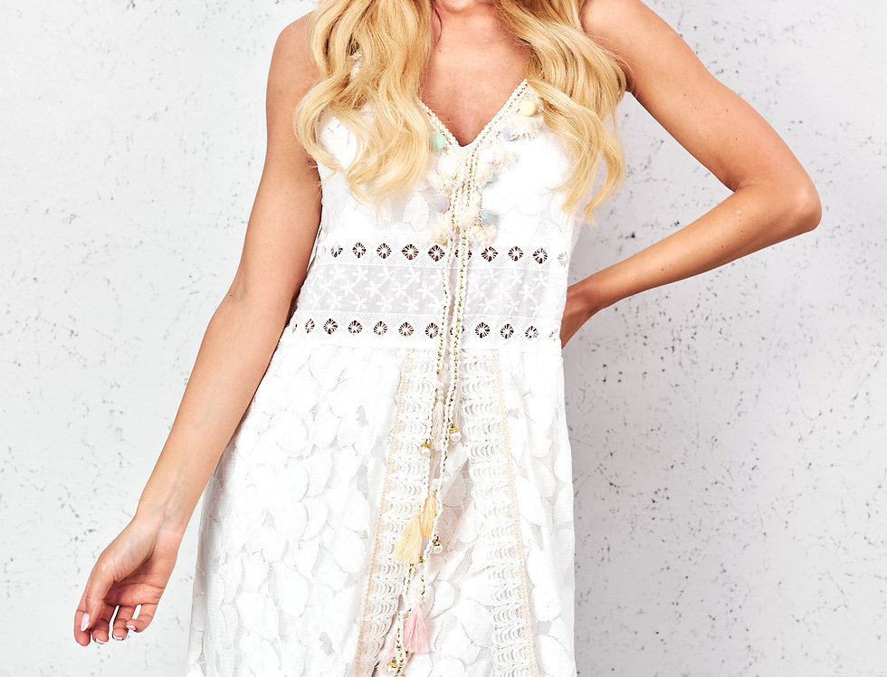 Kleid Bohemian Pastel