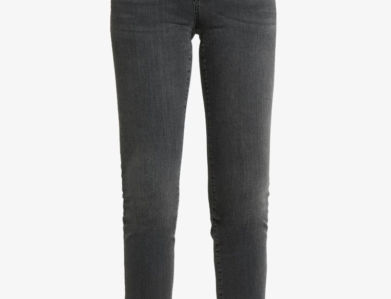 Midwaist Skinny Jeans smoked grey