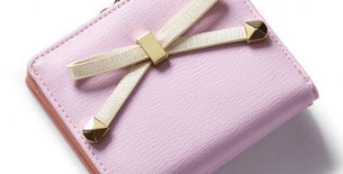 Portemonnaie Pink Bow