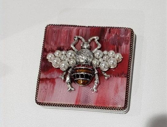 Taschenspiegel Bee