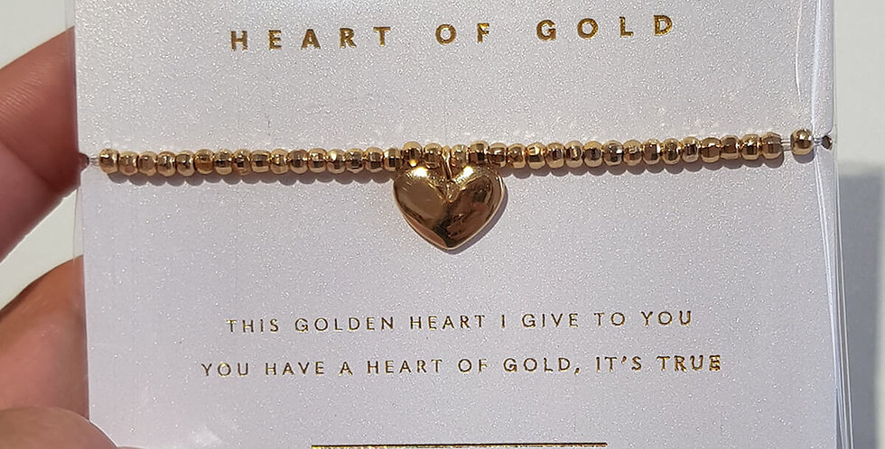 Armband Heart of Gold