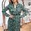 Thumbnail: Kleid Smaragd Leaf