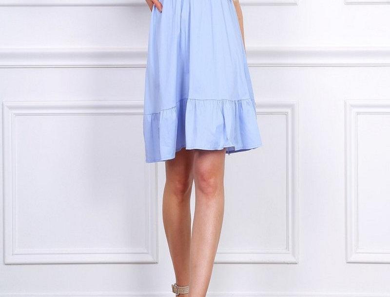 Kleid Ella Eisblau