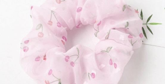 Scrunchie Pink Cherry