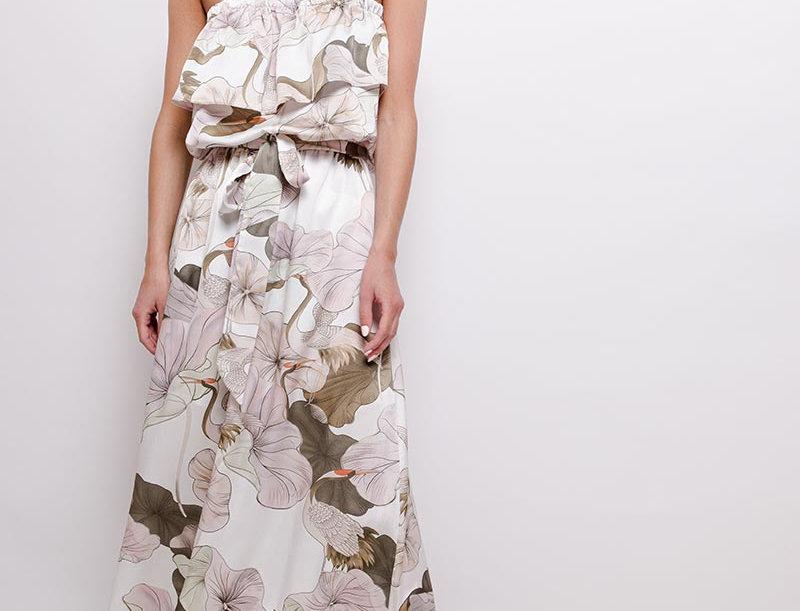 Kleid Kranich