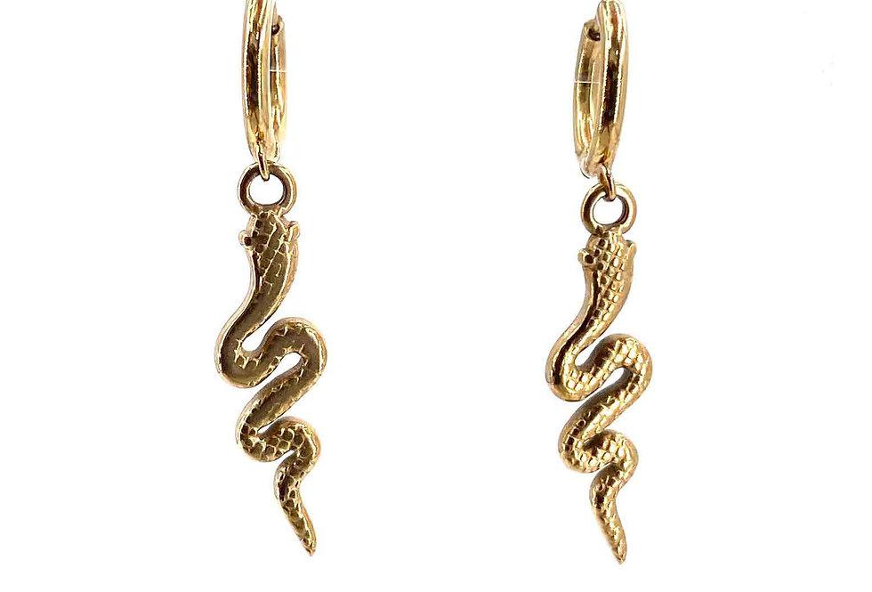 Ohrringe Snake (Stainless Steel)