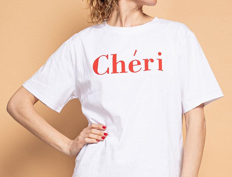 T-Shirt Chéri